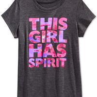 Layer 8 Girls' This Girl Has Spirit Tee