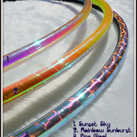ULTRaSHiNE POLYPRO - Solid ShiNy Advanced Polypro Hoop - ANY COLOR // BeSt PriCeD // Free Inside Grip.