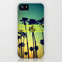 CALIFORNIA iPhone & iPod Case by RichCaspian