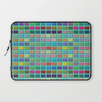 Wall of Sound Laptop Sleeve by picturing juj