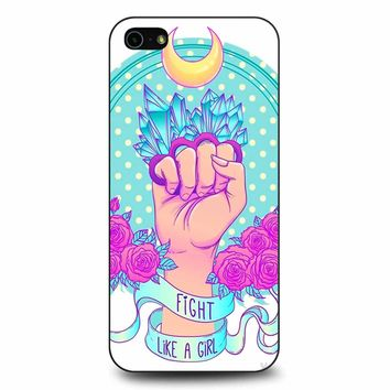 Fight Like A Girl iPhone 5/5s/SE Case