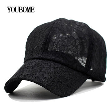 2017 New Baseball Cap Women Snapback Caps Hats For Women Girls Casquette Brand Bone Gorras Lace Floral Lady Fashion Sun Hat Caps