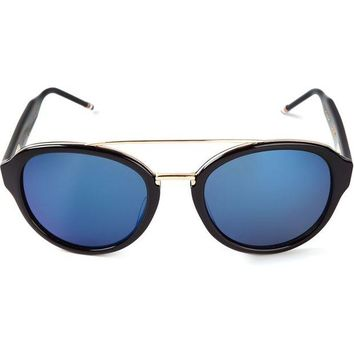 DCCKIN3 Thom Browne round style frame sunglasses