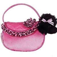 Aurora World Pink Ruffles Fancy Pals Pet Carrier Purse