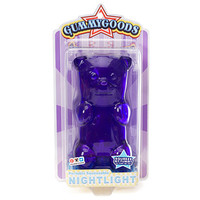 Gummy Bear Night Light - Purple