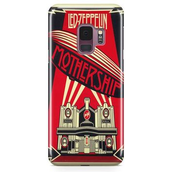 Led Zeppelin Colorfull Samsung Galaxy S9 Case | Casefantasy