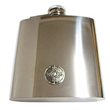 Medieval Shield 6 Oz. Stainless Steel Flask