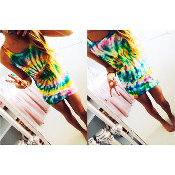 Tight Tie Dye Dress (XS)