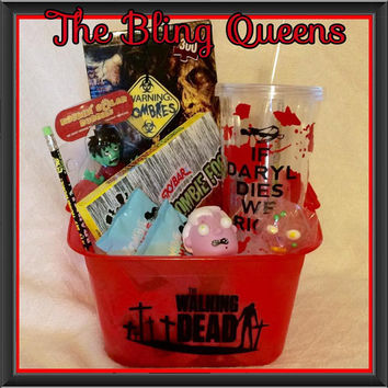 NEW Walking Dead Zombie Gift Basket