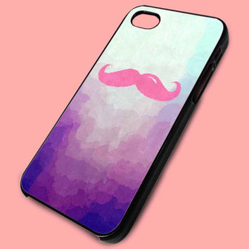 Markiplier, I can just see him even tho it's just a mustache case