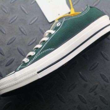 PEAPON Converse Addict Fashion Canvas Flats Sneakers Green
