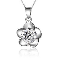 Clover Leaf Necklaces in Sterling Silver - Free size / silver