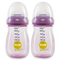 Joovy® Boob 9-Ounce Baby Bottle in Purpleness (2-Pack)