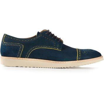 PS Paul Smith patterned derby shoes