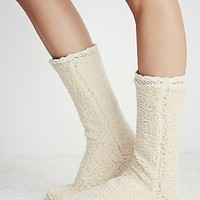 Lemons Womens Lodge Slipper Sock