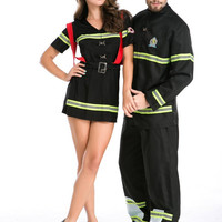 Couple Cosplay Halloween Games Uniform [9211508356]
