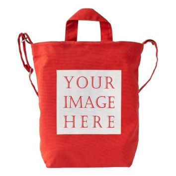 Create Your Own custom BAGGU Duck Bag, Poppy Color Duck Bag