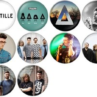 Bastille Pinback Buttons Badges/Pin 1 Inch (25mm) Set of 10 New