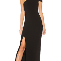 LIKELY Maxson Gown in Black   REVOLVE