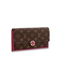 Louis Vuitton M64585 Bifold FLORE Wallet/ CLUTCH BRAND NEW NO BOX NO DUST BAG