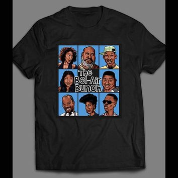 YOUTH SIZE FRESH PRINCE OF BEL-AIR/ BRADY BUNCH STYLE PARODY SHIRT