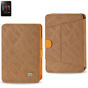 FITTING CASE WITH CLIP KINDLE FIRE 7 INCH LIGHT BROWN