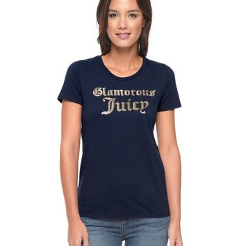 Logo Glamorous Juicy Short Sleeve Tee by Juicy Couture