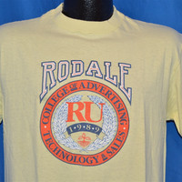 80s Rodale Institute College of Advertising, Technology & Sales t-shirt Medium