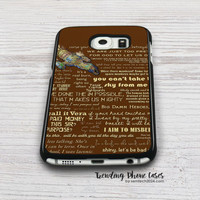 Firefly Quotes Samsung Galaxy S6 Case Cover for S6 Edge S5 S4 Case