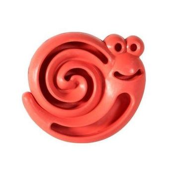 """HERO Natural Rubber Snail Chew & Treat Puppy Toy 3.5"""""""