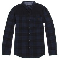 Modern Amusement Midnight Flannel Shirt - Mens Shirt - Blue