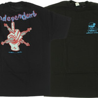 Independent My Name Is Gonzales T-Shirt S Black