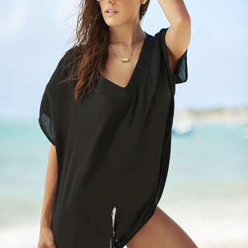 Malai Swimwear Onix Tie The Knot Cover Up