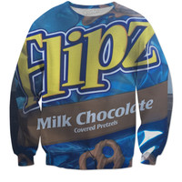 Flips Milk Chocolate Covered Pretzel Sweatshirt