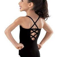 Girls' Criss-Cross Leotard