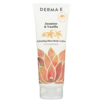 Derma E Body Lotion, Jasmine Vnll - 8 Oz