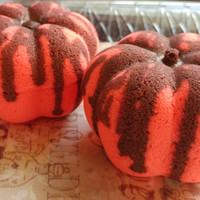 1 Pumpkin Marshmallow / Bath Bomb / Halloween Bath Bomb / Pumpkin Bath Bomb / Bathbomb / Fall  / Pumpkin Spice / Christmas Gift / Sweet Bath