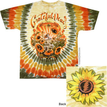 Grateful Dead - China Cat Sunflower Tie Dye T Shirt on Sale for $25.95 at The Hippie Shop