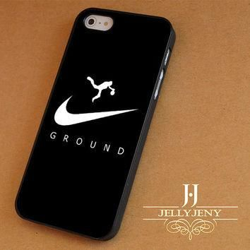 Draw an Air Jordan logo iPhone 4 5 5c 6 Plus Case | iPod 4 5 Case