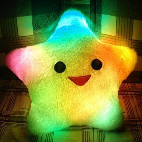 INFMETRY:: Colorful Lucky Star Glow Pillow - Home&Decor