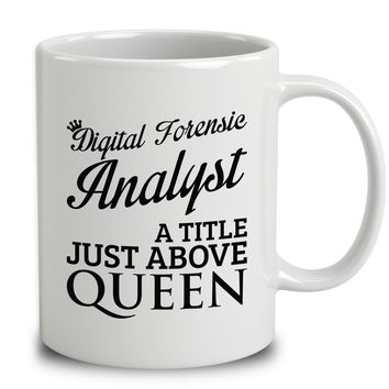 Digital Forensic Analyst A Title Just Above Queen
