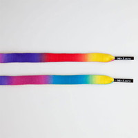 Mr. Lacy Rainbow Fade Shoelaces Multi One Size For Men 23597995701