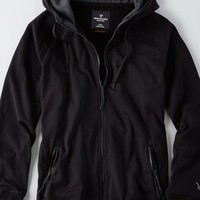AEO Men's Active Flex Hoodie (Bold Black)