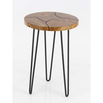 Enticing Teak Accent Table