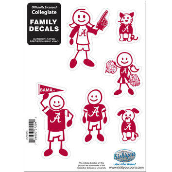 NCAA Team Family Decal Set Small