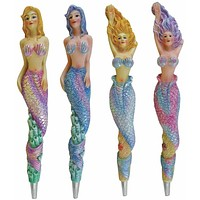 Mermaid Pens - Set of 4