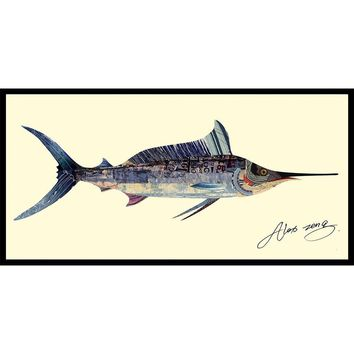 Blue Marlin ~ Art Collage