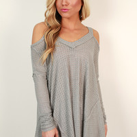 Treat Yourself Cold Shoulder Top