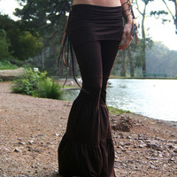 Zumi Pants in Chocolate Brown or Black by ElvenForestCreations