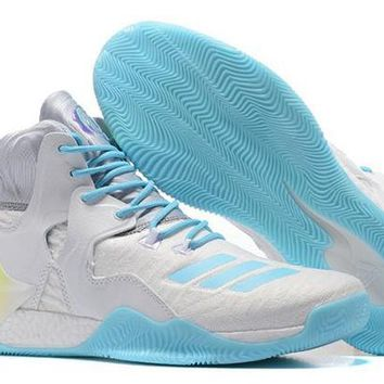DCCKY4E New Style Adidas D Rose  Primeknit Chirstmas Iridescent Derrick Men's Basketball Shoes